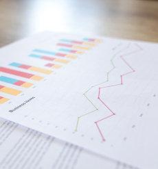 wykresy biznesowe